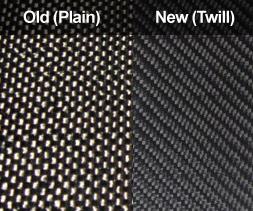 Old versus new weave
