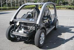 Teijin carbon fiber car frame