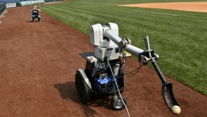 Philliebot with carbon fiber robotic arm