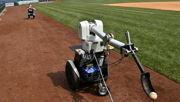 Philliebot with carbon fiber robotic arm