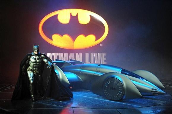 New carbon fiber Batmobile