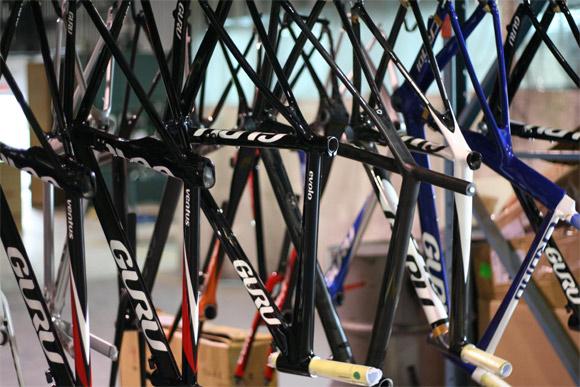 Guru carbon fiber bicycle