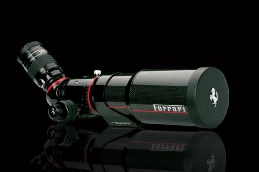Carbon fiber Ferrari Telescope