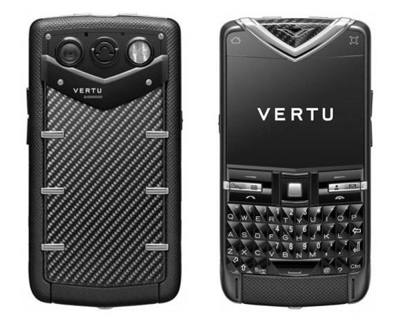 Vertu carbon fiber phone