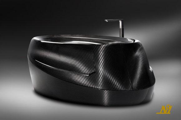 Corcel N.1 carbon fiber bath tub