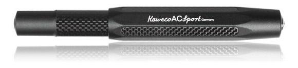 Kaweco AC Sport carbon fiber and aluminum fountain pen