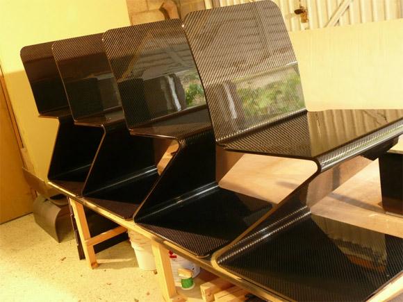 fiber furniture. Carbon Fiber Furniture