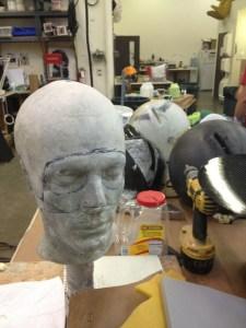 Making of Deadmau5's carbon fiber head for 2012 Grammy's