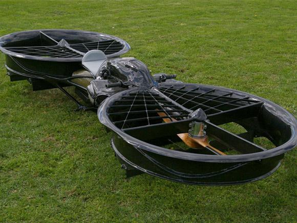 Carbon fiber hover bike