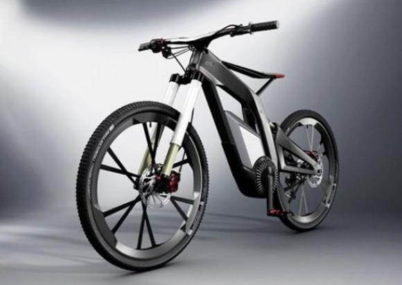 Audi carbon fiber e bike