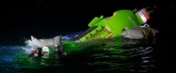 James Cameron's Deapsea Challenger