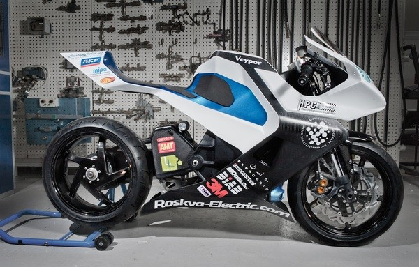 Roskva carbon fiber electric motorycle