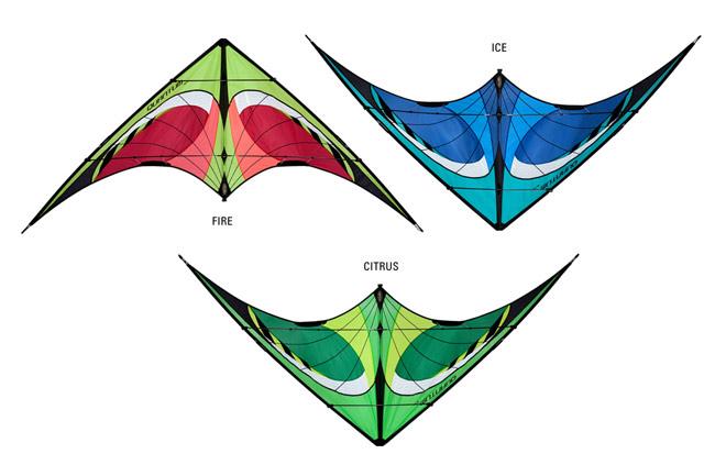 Prism carbon fiber kites