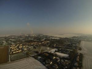 Aerial shot taken by LA100