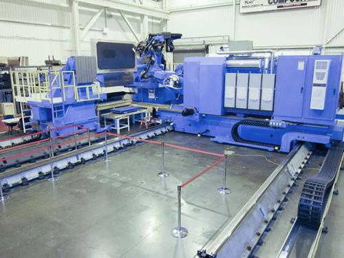 New BMI fiber-placement machine unveiled at F-35 suppliers conference