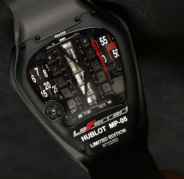 Hublot MP 05 LaFerrari watch back