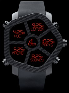 Jacob & Co Ghost carbon fiber watch