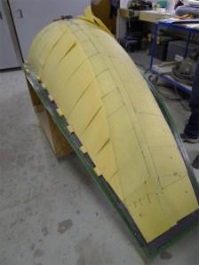 Building carbon fiber core