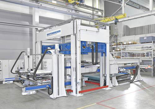 Dieffenbacher installs preform technology