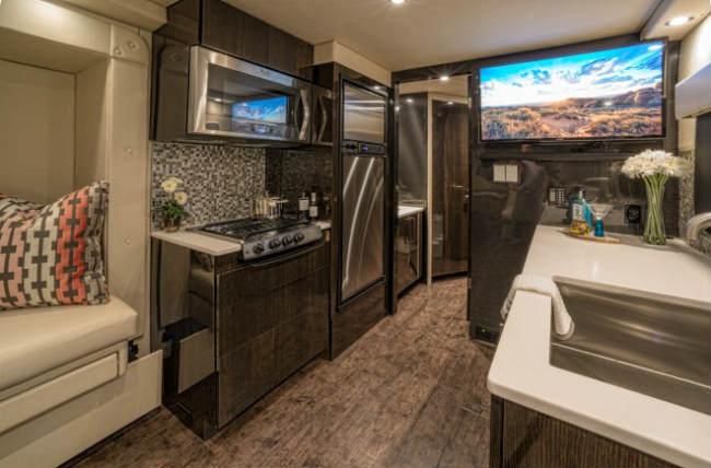 kitchen cr-1 carbon fiber rv