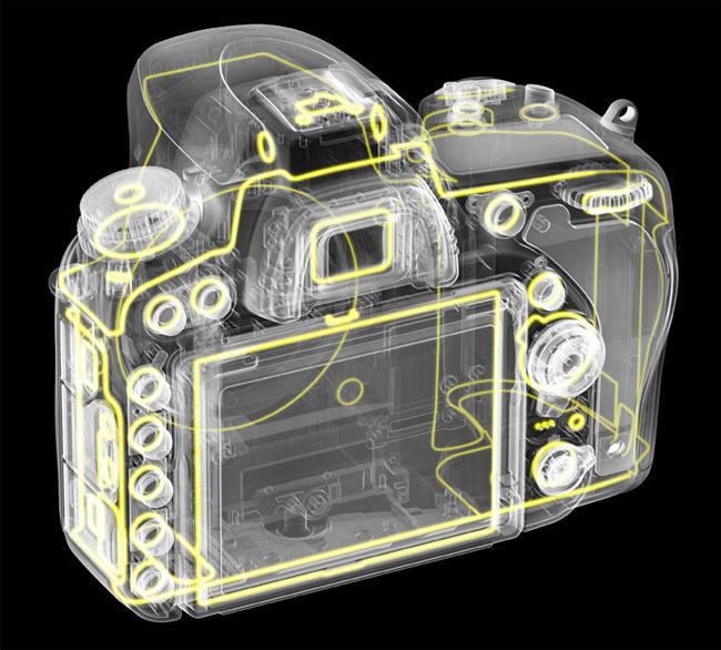 D750 nimble design specs