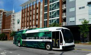 Proterra composite-bodied bus