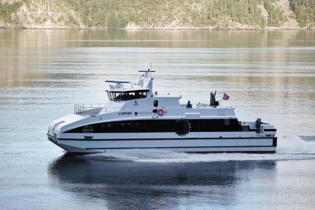 carbon fiber ferry