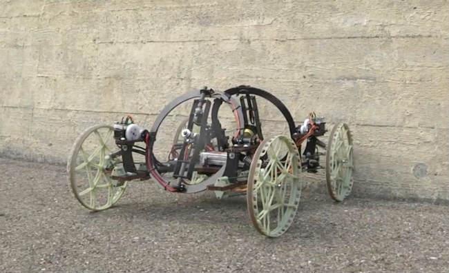 disney carbon fiber robot