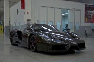 Exposed carbon fiber Enzo Ferrari