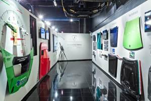 Lamborghini research facility