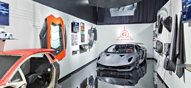 Lamborghini research facility