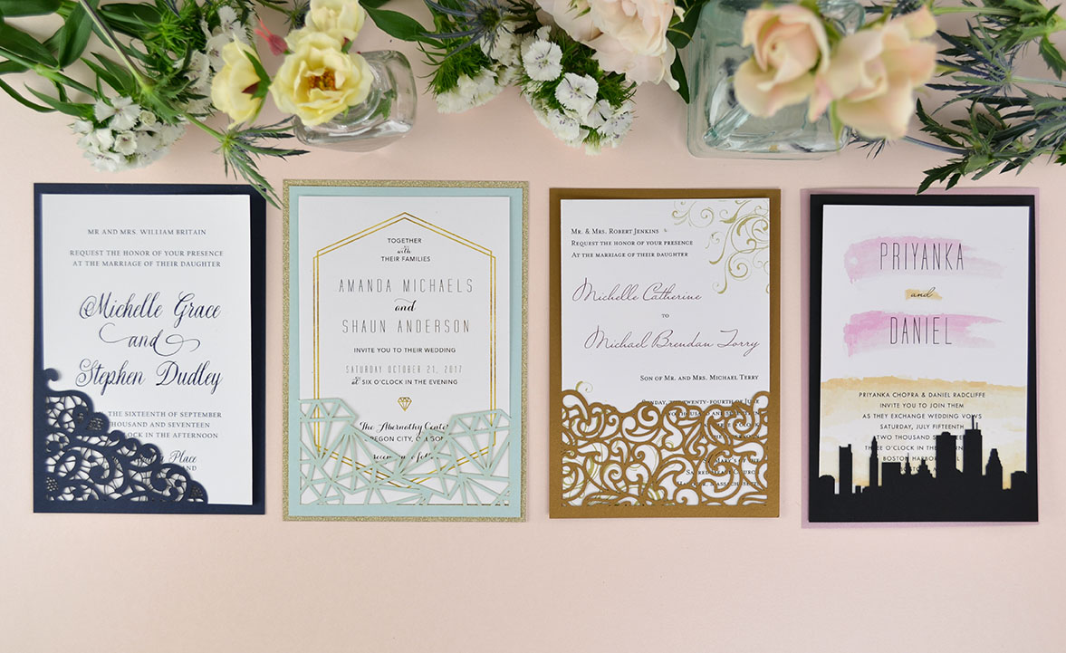 How to DIY Laser Wedding Invitations with Slidein Cards