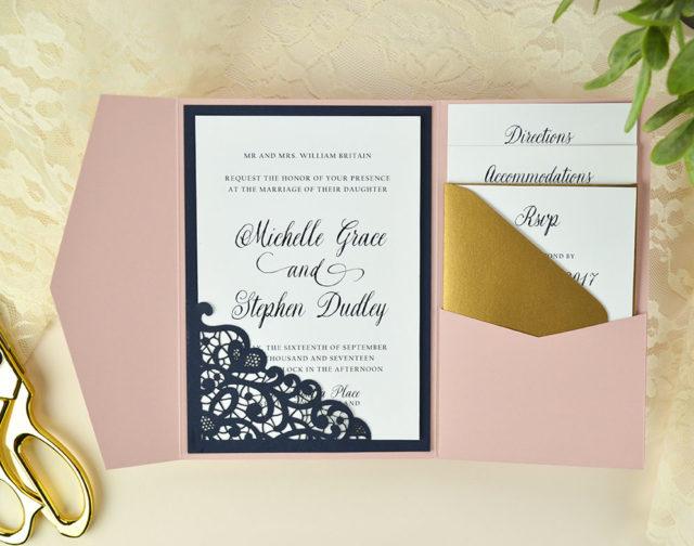 Cards  Pockets Design Idea Blog  DIY Wedding Invitation