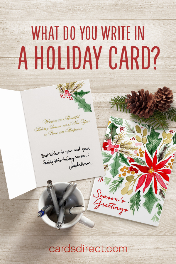 What To Write Snazzy Christmas Card Sayings For When You
