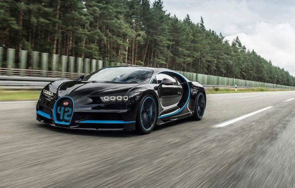 The Bugatti Chiron Breaks Its First Record
