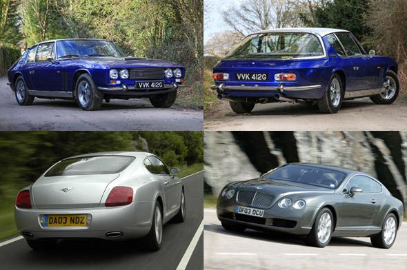 Automotive Reincarnations: Jensen Ff And Bentley Continental Gt