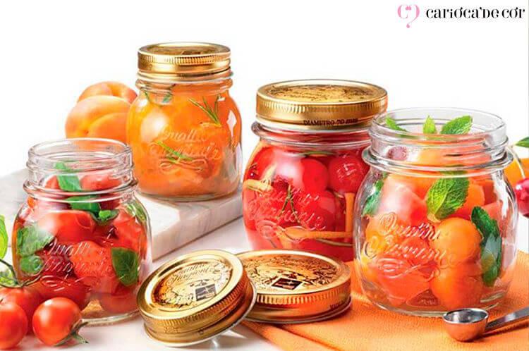 potes herméticos para frutas
