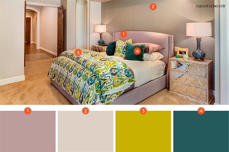 como aplicar a paleta de cores