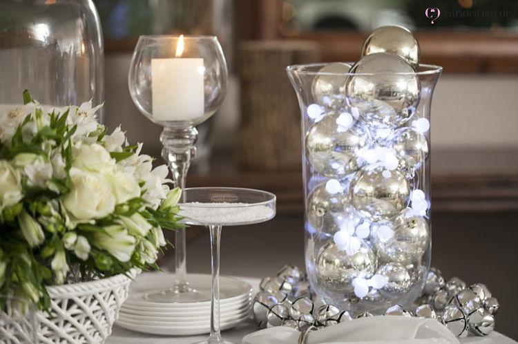 luzes de natal para decoração no réveillon