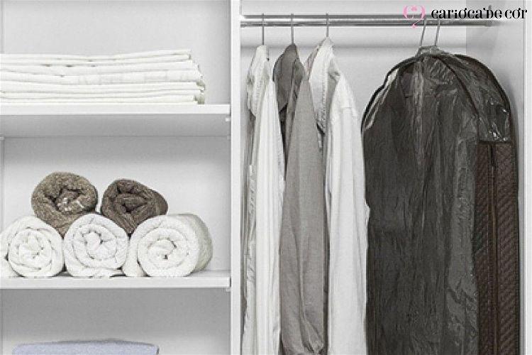 capas para proteger roupas
