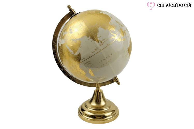 globo terrestre decorativo