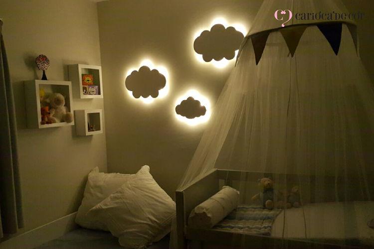 luminárias decorativas para quarto de bebê