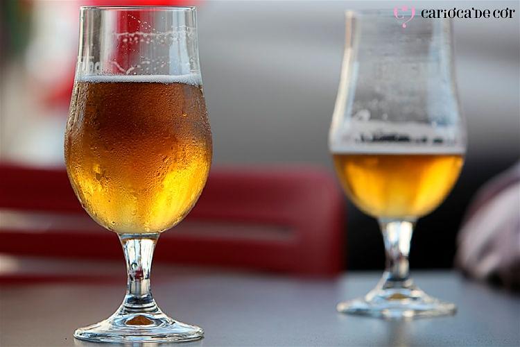taça de cerveja