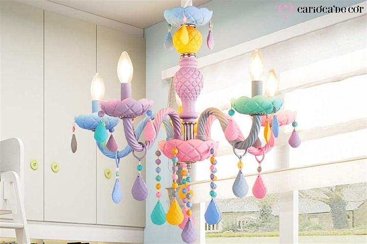lustre para quarto infantil