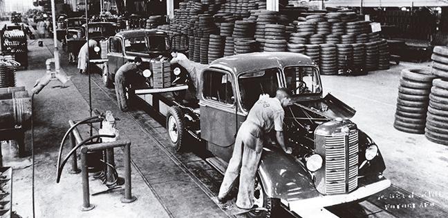 Fábrica da Chevrolet