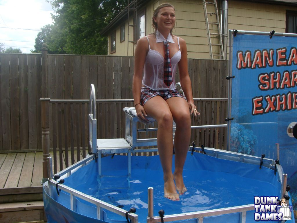 Dunk tank girls naked the