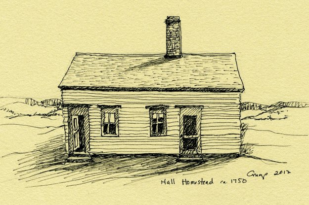Hall Homestead, ca. 1750