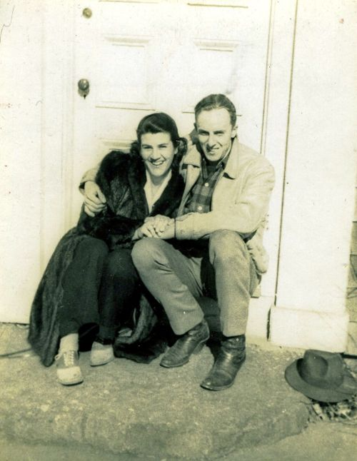 Janet and Charlie Crump, 1942