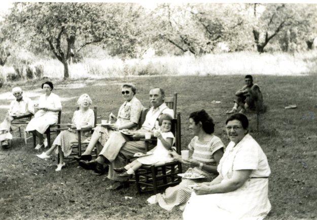 Farm Picnic, 1948