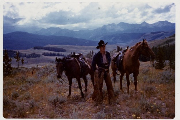 "Charlie ""Buck"" Crump in Montana, 1938"